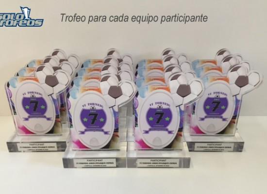 Trofeos metacrilato personalizado para torneo Jordi Pitarque